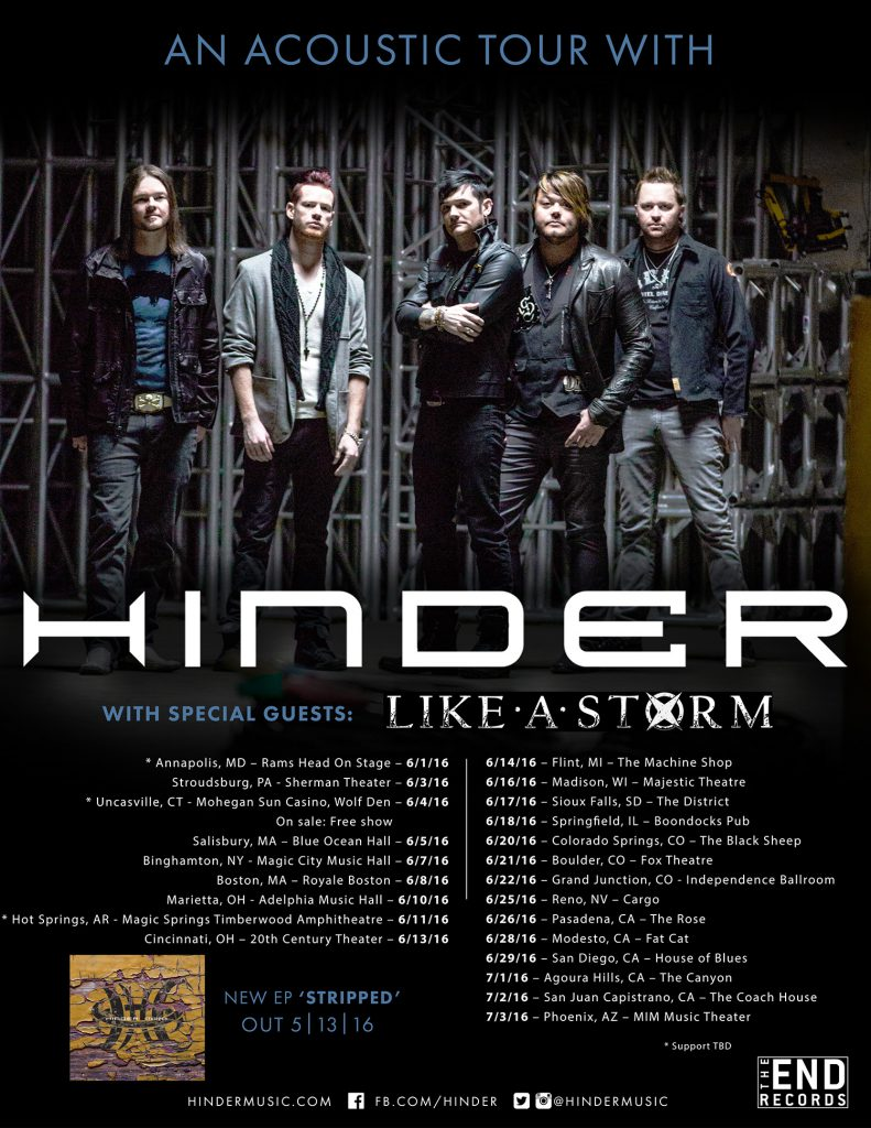 Hinder Stripped Admat SMALL